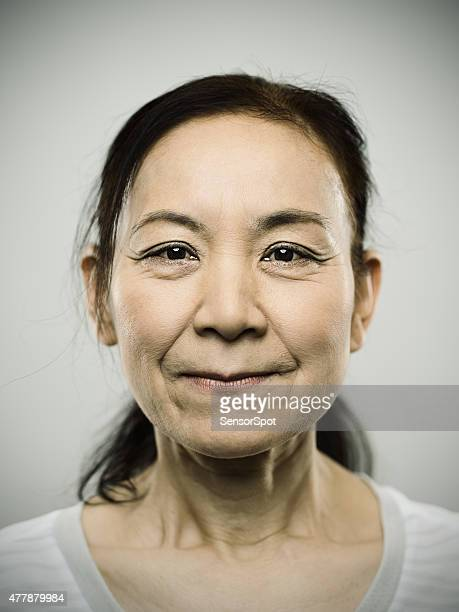 Portrait of a senior japanese woman