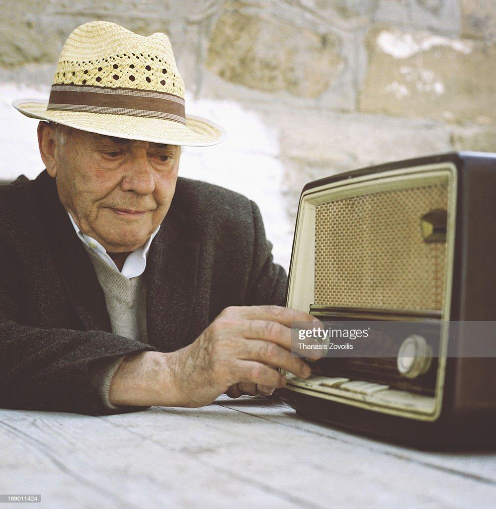 Portrait of a senior man : Stock Photo