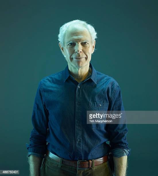 portrait of a senior man - senior men stock pictures, royalty-free photos & images
