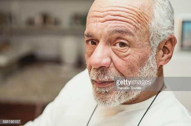 Portrait of a senior man
