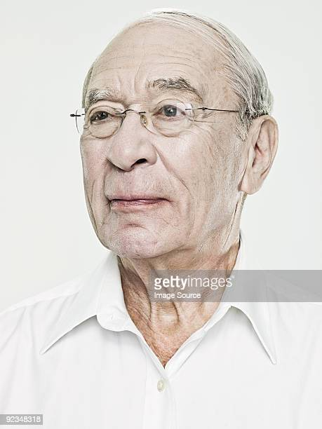Portrait of a senior man