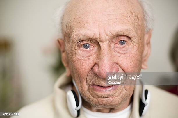 Portrait of a senior over 100 years old