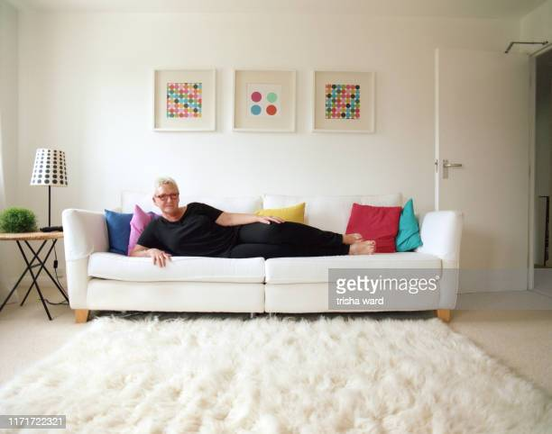 Portrait of a senior woman from the LGBT community