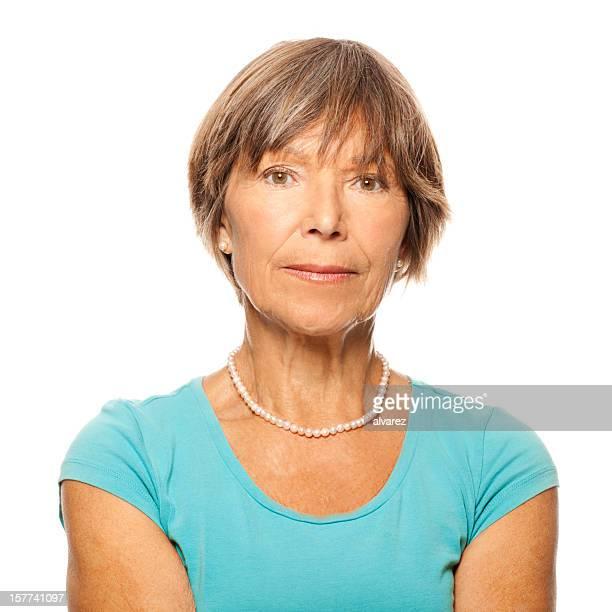 Porträt eines senior Frau