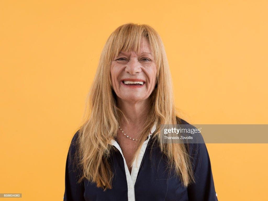 Portrait of a senior woman : Stock-Foto