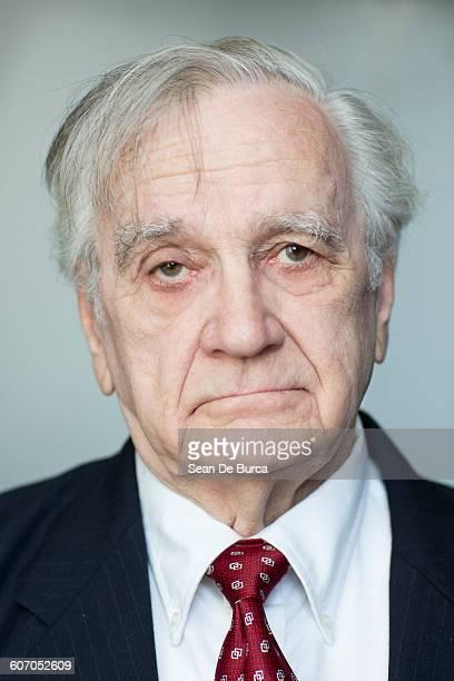 Portrait Of A Serious Elderly Man