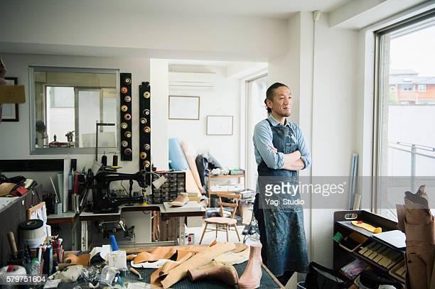 Portrait of a Shoe deisgner