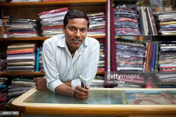 Portrait of a shop keeper, Delhi