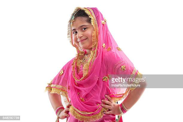 portrait of a sikh girl - punjabi girls images stock photos and pictures