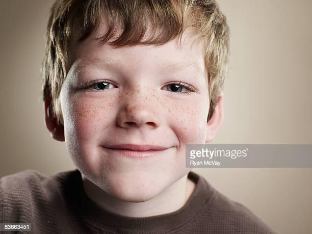 Portrait of a six year old boy.