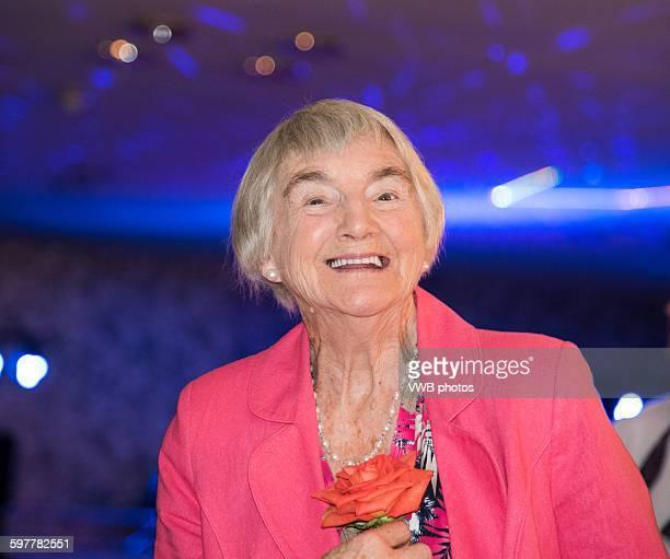 Portrait of a smartly dressed senior lady