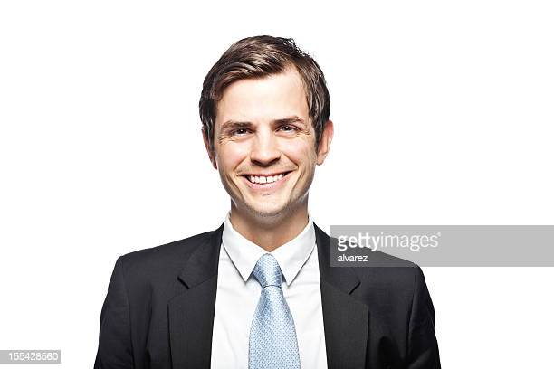 Portrait of a smiling business man.