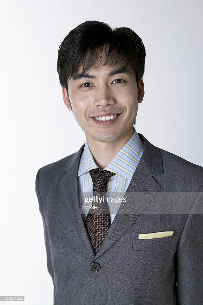 Portrait of a Smiling Businessman : Stock Photo
