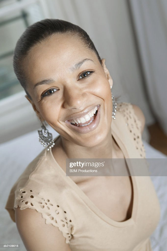Portrait of a Smiling Businesswoman : Stock Photo