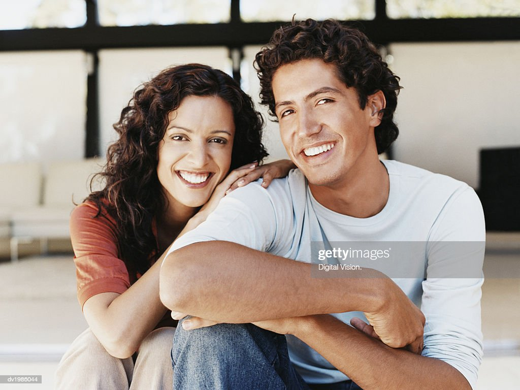 Portrait of a Smiling Couple : Stock Photo
