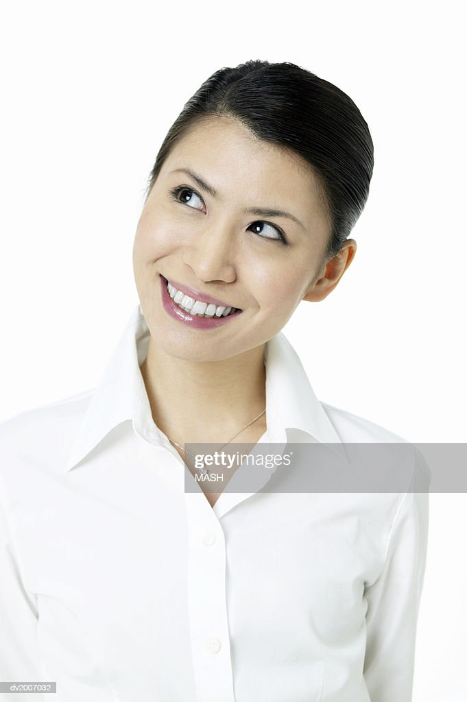 Portrait of a Smiling, Female Business Executive : Stock Photo