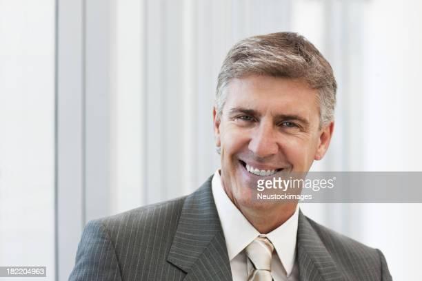 Portrait of a smiling mature businessman