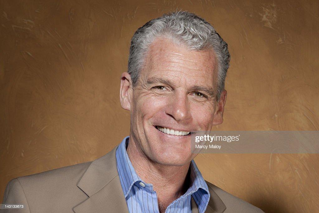 Portrait of a smiling mature man. : Stock Photo