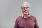 Portrait of a Smiling Senior Business Man