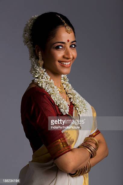 Portrait of a South Indian woman