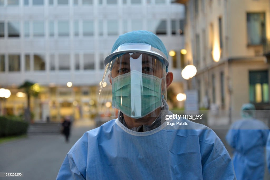 Italy Continues Nationwide Lockdown To Control Coronavirus Pandemic : News Photo