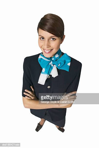 Portrait of a stewardess