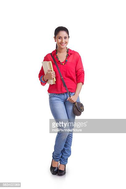 portrait of a student - crossbody bag stock pictures, royalty-free photos & images