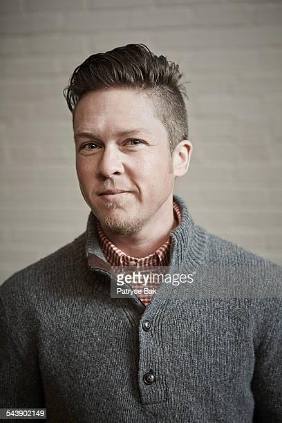 portrait of a stylish transgender man - transgender stock-fotos und bilder
