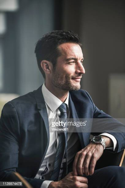 portrait of a successful businessman - stereotypically upper class stock pictures, royalty-free photos & images