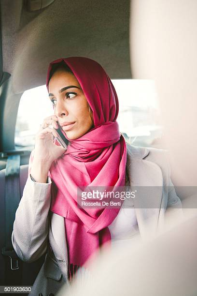 Portrait Of A Successful Businesswoman On The Phone