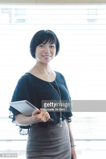 Portrait of a successful businesswoman
