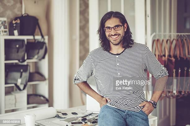 Portrait of a successful designer