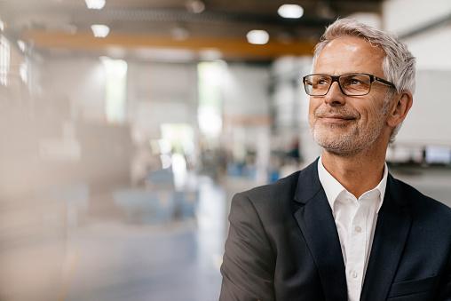 Portrait of a successful entrepreneur in his company - gettyimageskorea