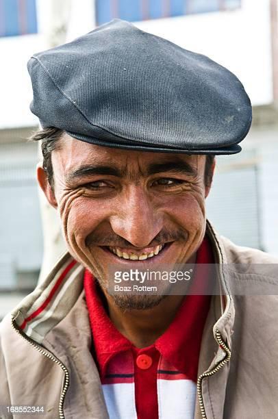 Portrait of a Tajik man. Tashkurgan, Xinjiang,Silk Road, China.