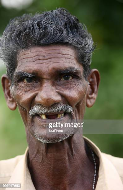 Portrait of a Tamil farmer in Jaffna Sri Lanka Many farmers toil for a good harvest which often fails to provide them enough income to support...