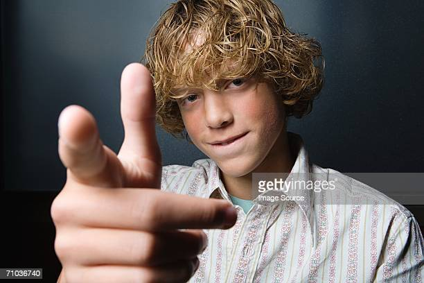 portrait of a teenage boy - arrogance stock pictures, royalty-free photos & images