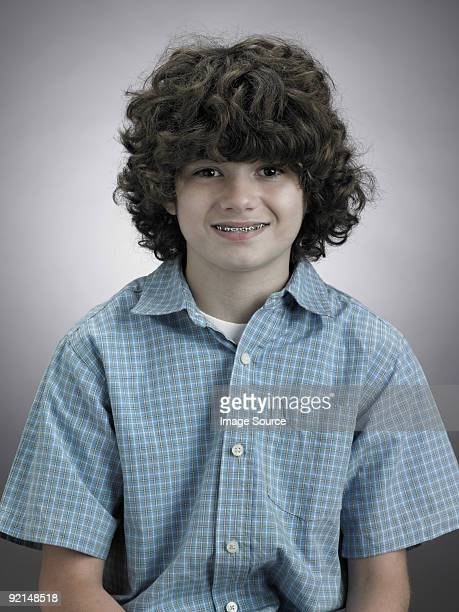 World S Best Teenager Boy Curly Hair Stock Pictures Photos