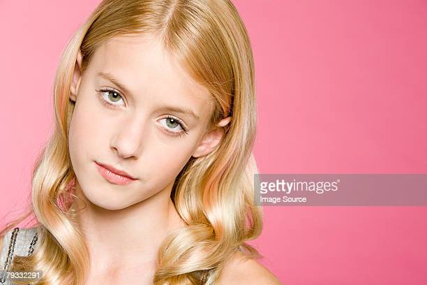 portrait of a teenage girl - one teenage girl only stock pictures, royalty-free photos & images