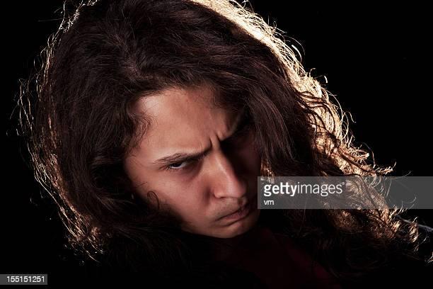Portrait d'une adolescente