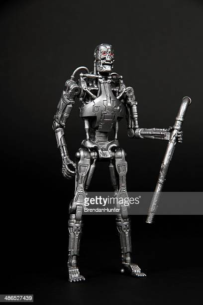 portrait of a terminator - murderer stock pictures, royalty-free photos & images