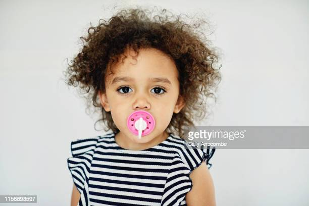 portrait of a toddler girl - alternative pose stock pictures, royalty-free photos & images