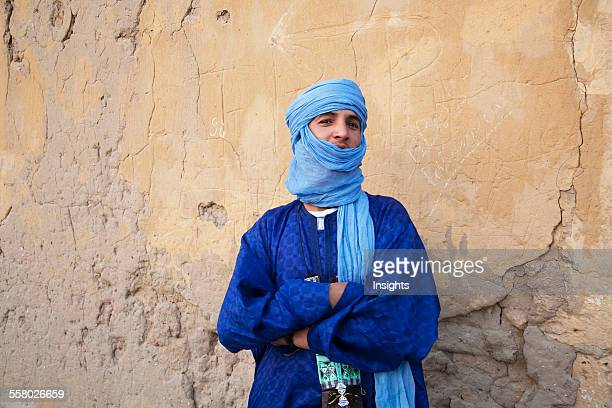 Portrait of a Tuareg man, Timbuktu, Mali