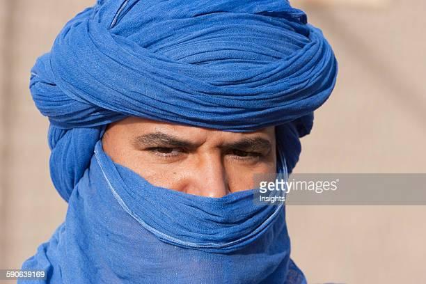 Portrait of a tuareg man, Timbuktu, Mali.
