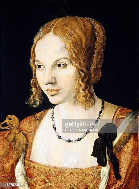 Portrait of a Venetian by Albrecht Durer Vienna Kunsthistorisches Museum