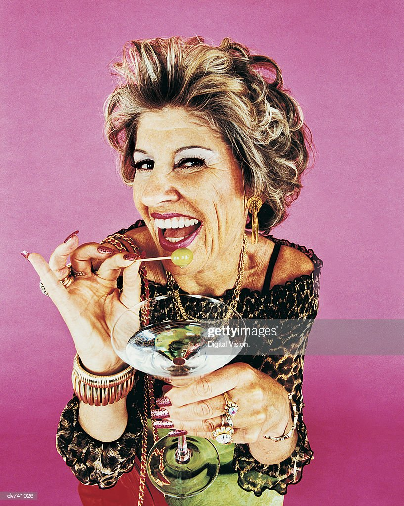 Portrait of a Wealthy Woman : Stock Photo