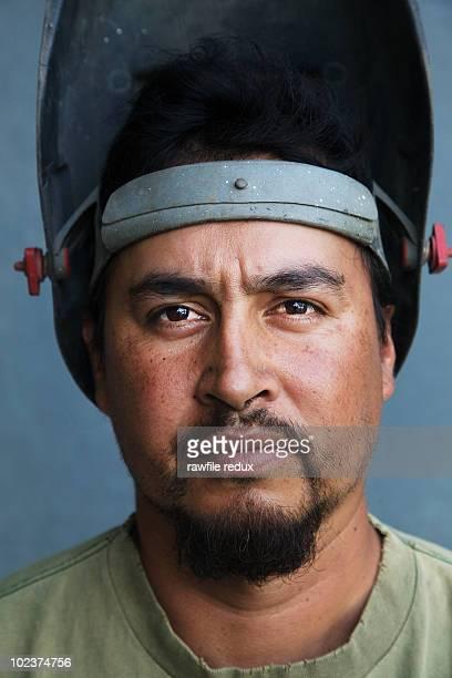 Portrait of a welder