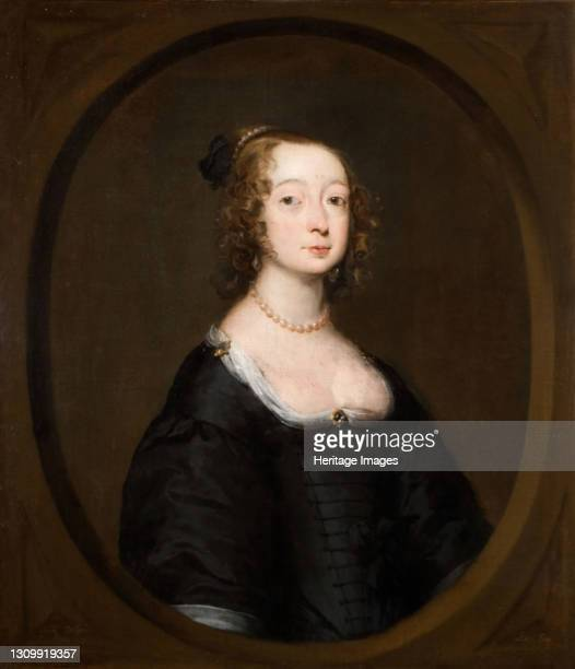 Portrait of a Woman, 1645. Artist William Dobson. .