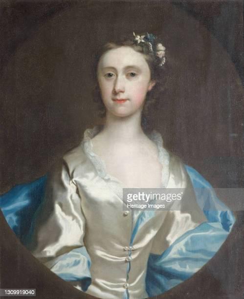 Portrait of a Woman, 1745. Artist Joseph Highmore. .