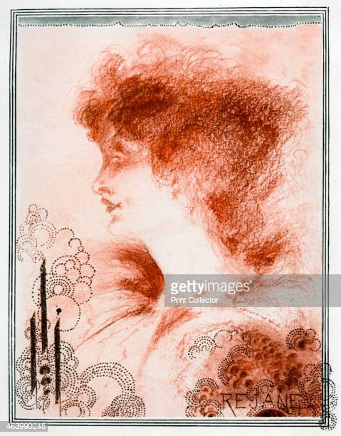 Portrait of a woman 1898 Plate taken from The Studio magazine volume 13 no 62