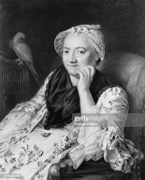 Portrait of a Woman Artist Johann Nikolaus Grooth